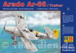 Arado 66 Trainer Luftwaffe, RS-Models 1:72 (92059)